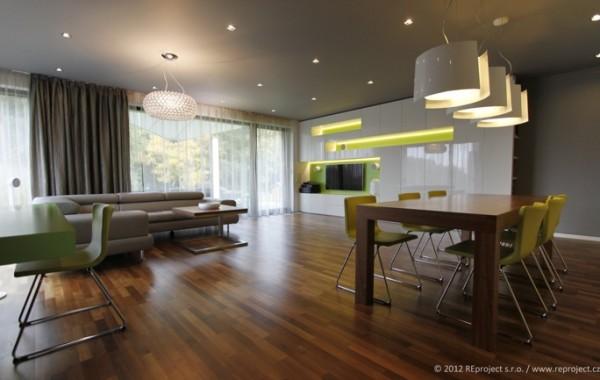 Interiér rodinné vily | Kunratice