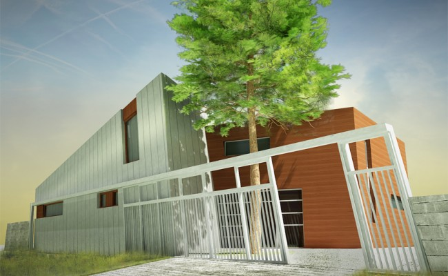 ¨Přístavba domu