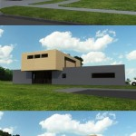 návrh rodinné vily