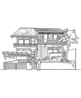 RD Jakarta, typový dům