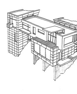 Dům na skále, konceptuální projekt