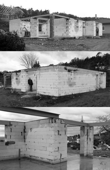 rozestavěná stavba