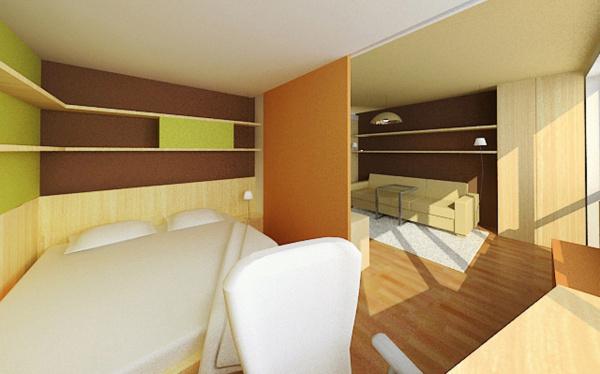 Interiér v panelovém domě | Braník
