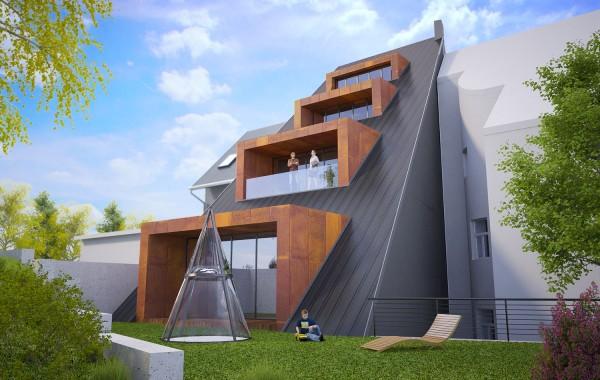 Bytový dům | Davídkova