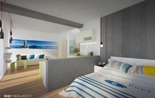 Moderní apartmán