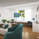 Moderní interiér obýváku