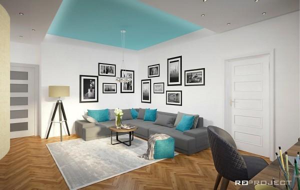 Interiér obývacího pokoje | Jankovcova